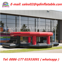 China Factory Inflatable Panna Soccer Panna Cage, Inflatable Basketball Field For Sale Speed Cage, Inflatable Football Game