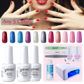 Elite99 Pick 5 Colors Elite99 UV Gel Polish 36W Nail Dryer Cleanser Plus Sanding Files Gel Nail Polish Wholesale Price