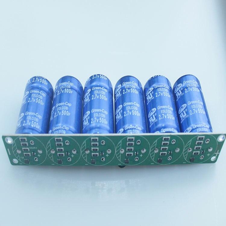 2.7V500F 2.5V700F 16V83F Automotive Super Fala Capacitor Module 2.5v600f