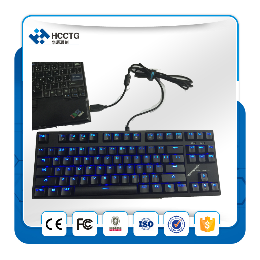 2016 hot selling standard 87 keys HGK-87 Mechanical keyboard image