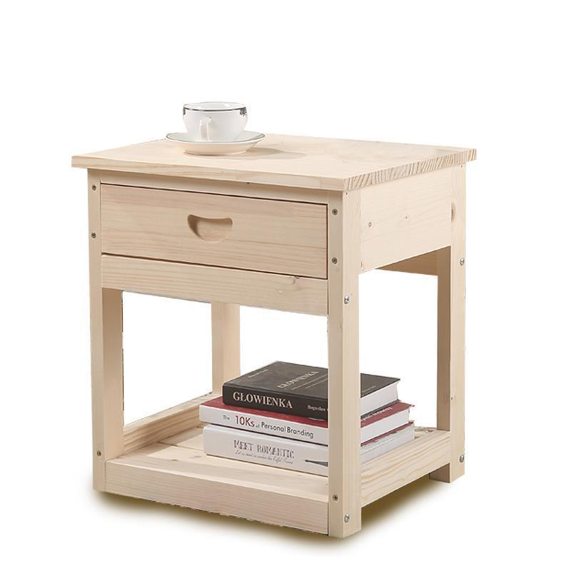 Table Mesillas Noche Para El Chambre Slaapkamer European Wood Cabinet Mueble De Dormitorio Quarto Bedroom Furniture Nightstand