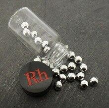 Родия Rh 99.99% (сплошная 1 г гранул)