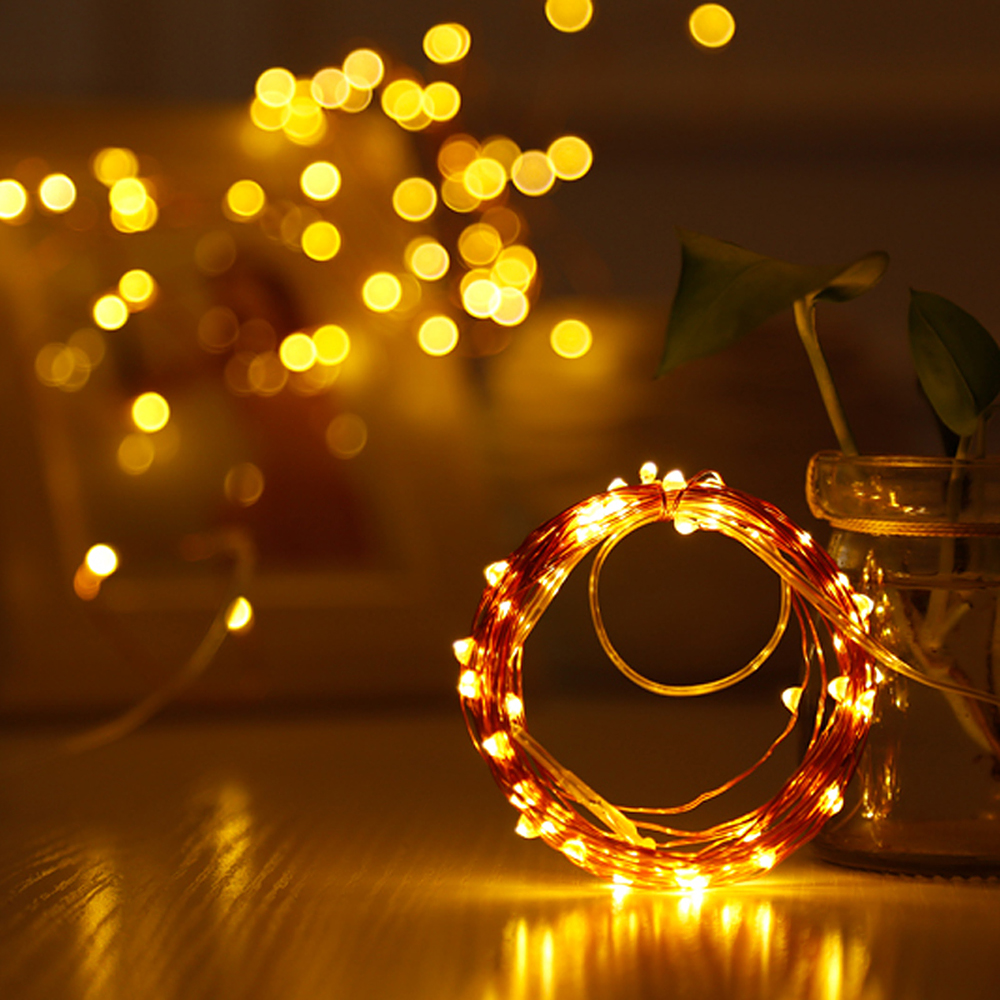 ITimo Fairy Lights 5M 10M LED String valgus USB Power for Garland - Puhkusevalgustus - Foto 3