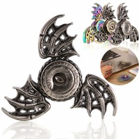 Tri-Spinner Game of Thrones Dragon High-Speed Hand Spinner Triangle Metal Brass Finger Fidget Handspinner Gift Toy Anti Stress