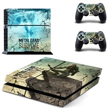 Metal Gear: Survive Vinyl Sticker PS4 Skin Decal Sticker For PlayStation4 Console and 2 controller skins