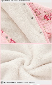 Image 5 - new born baby girl winter clothes 6m cute set romper baby fleece winter thick warm baby rompers newborn cotton coveralls 3 month