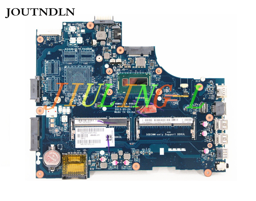 JOUTNDLN FOR Dell Inspiron 3537 5537 Laptop Motherboard LA-9982P CN-000GCY 000GCY 00GCY VBW01 W/ i5-4200u CPU Tested