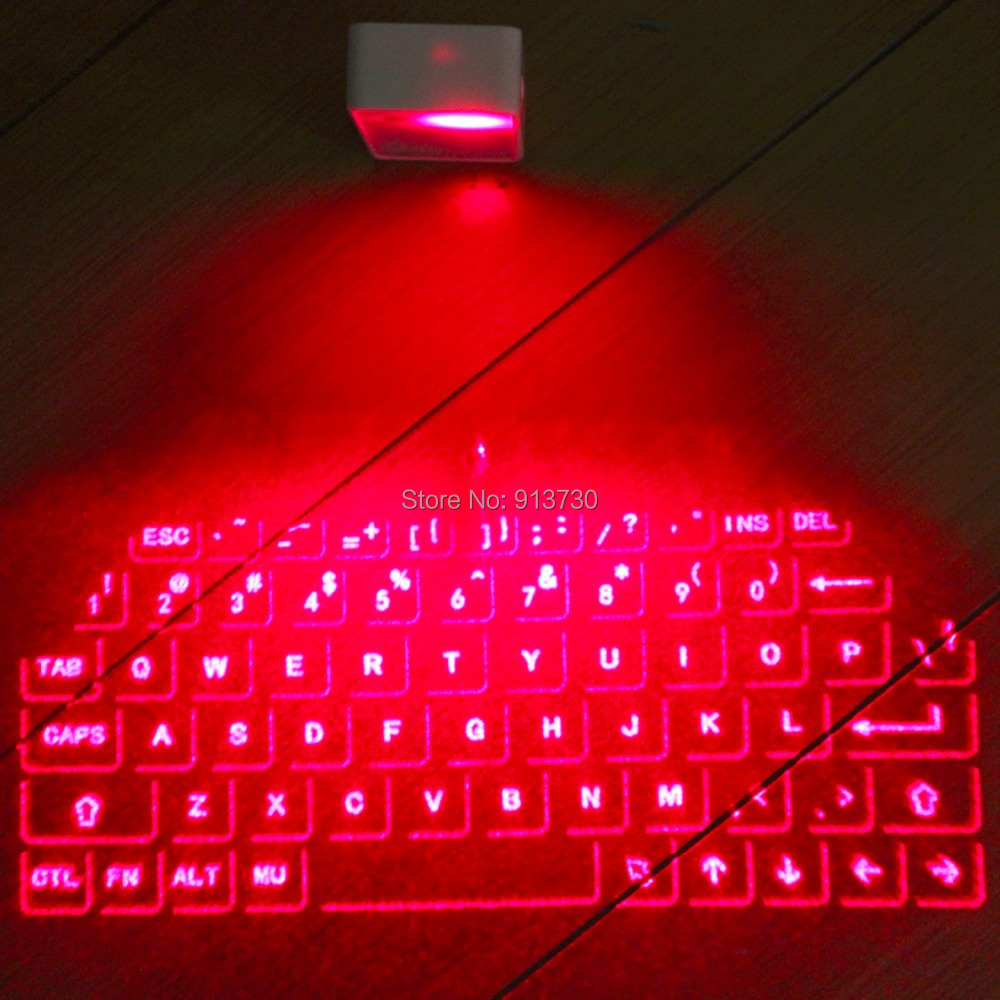 Virtual Laser Projection Wireless Bluetooth Keyboards Mouse Set for iPad iPhone with