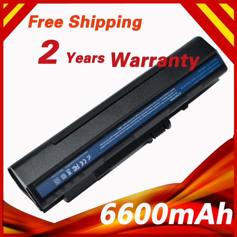 6600mah 9 Cells Battery For Acer Aspire One A110 A150 D250
