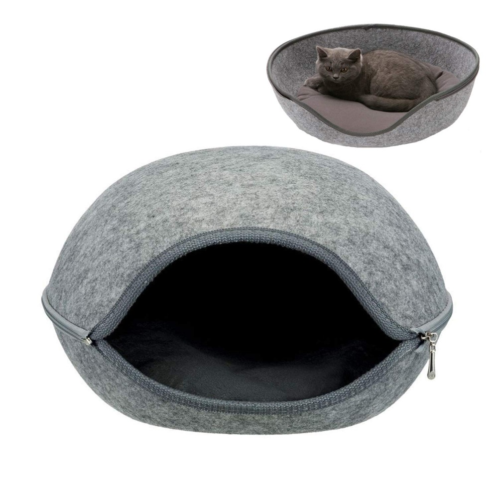 Ball Pet Cat Beds Nest Cat House Basket Pet Cave Funny Egg-type Pet Nest Cat House All Season Round Kitten Hole Comfortable Warm
