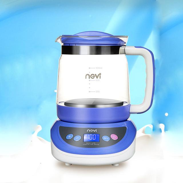 Calentador De Leche caliente Máquina de Leche De Vidrio de Temperatura Inteligente Termostato Botella de Agua Calentadores de Biberones y Esterilizadores