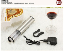 Original Electric Wine Opener Stainless Steel USB Rechargeable Corkscrew Automatic  With Foil Cutter Tools