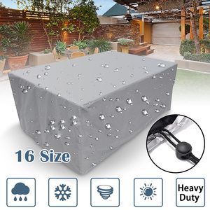 16Size Outdoor Cover Waterproof Furniture Cover Sofa Chair Table Cover Garden Patio Beach Protector Rain Snow Dust Covers|All-Purpose Covers| |  -