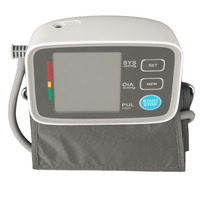 1 Pcs Digital LCD Fully Automatic Upper Arm Style Blood Pressure Monitor Health Care Automatic Wrist