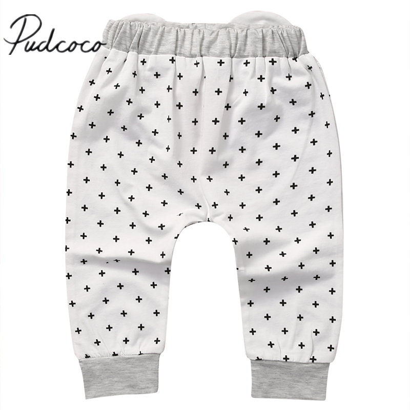 Toddler Baby Harem Pants Boys Girls 2017 New arrival casual Cartoon Bottoms Pants Leggings Trousers Age 0-2T