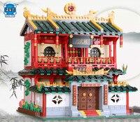 Новый xingbao блок подлинной творческой здание серии Китайский Боевые искусства набор строительных Конструкторы кирпичи Игрушечные лошадки С