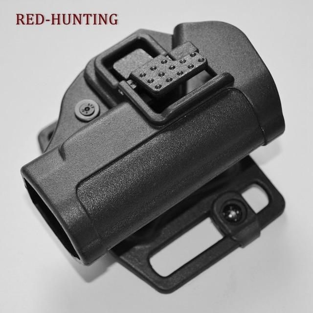 Alta Qualidade Tactical Serpa CQC Ocultação Rápida Cinto Mão Direita Pistol Holster para PPK