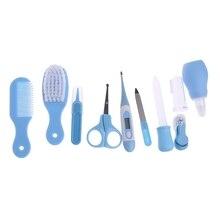 10 шт./партия новорожденных детей ногтей волос забота о здоровье термометр Набор щеток для ухода W30
