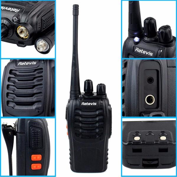 2pcs Cheap Walkie Talkie Retevis H-777 UHF (10)