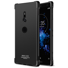 IMAK Case For Sony XZ2 Shock-resistant Shockproof Silicone Soft Transparent TPU Cover sFor Sony Xperia XZ2 Case
