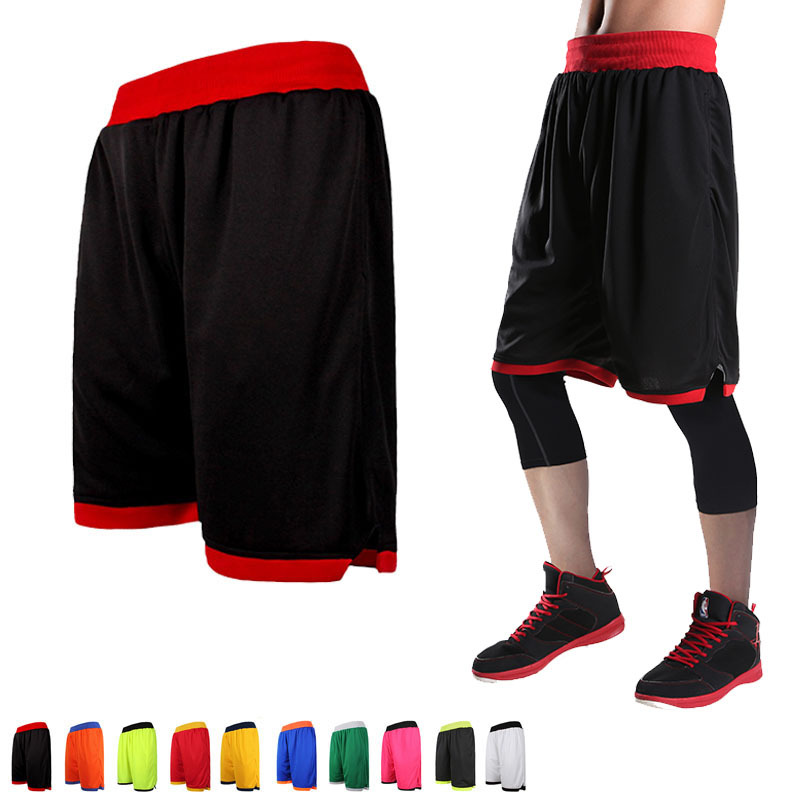 High Quality Reversible Casual 2019 New Loose Plus Size XL-7XL Shorts Men Summer Breathable Sporting Basketballs Shorts