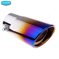 For Geely Emgrand 8 EC8 E8 Car stainless steel end pipes|Exhaust Headers| |  -