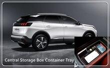 Interior Plastic Storage Box 1pcs For Peugeot 3008 GT 2016 2017