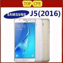 Original Samsung Galaxy J5 (2016) J510 Phone 2GB 16GB ROM 5.2″ inch Screen Quad Core Snapdragon Dual Sim FDD LTE Smartphone