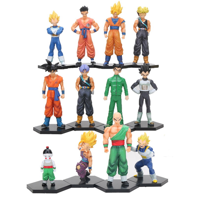 Toys & Hobbies Dragon Ball Z Super Flying Son Goku Vegeta Piccolo Frieza Cell Trunks Wcf Dbz 12 Hc Flight Status Action Figure Model Toy Buy One Give One