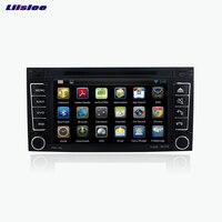 Liislee Android Car GPS Navigation Navi Player For VW TOUAREG T5 Multivan Transporter 2004 2011 Multimedia