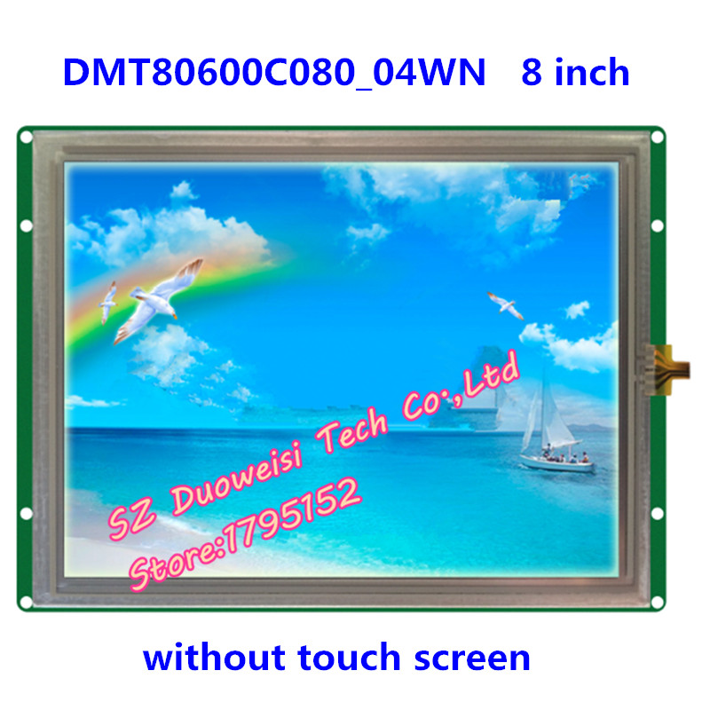 DMT80600C080_04WN 8-inch non-touch screen screen DGUS serial LCD module configuration screen robopeak 2 8 lcd resistance touch screen module w micro usb black