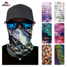 Motorcycle Face Mask Cycling Face Shield Mask Halloween Head Scarf Neck Warmer Skull Ski Balaclava Headband Outdoor Sports 2019 bjmoto cool skeleton skull motorcycle ski headband sport outdoor neck face mask mtb racing cycling windproof scarf balaclava