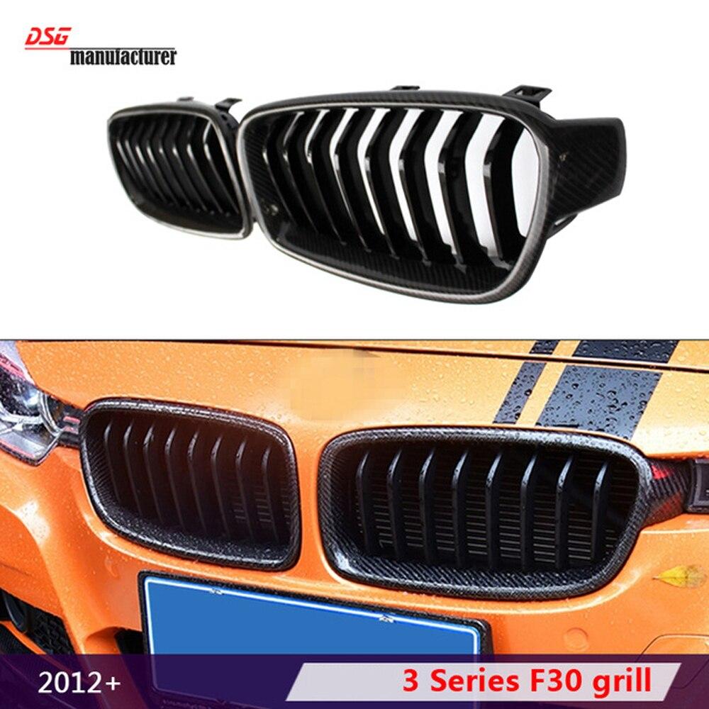 F30 F31 carbon fiber frame abs front bumper grille black kidney hood mesh black grill for bmw 3 series 316i 318d 320i 328i 325i f20 abs grill front bumper hood grille for bmw f21 2010 2014 page 8