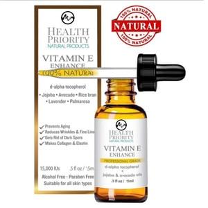 100% Natural Organic Vitamin E