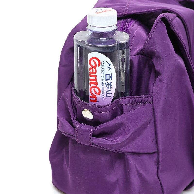 New 2017 Womens Tote Bags Nylon Oxford Cloth Shoulder Bag Large Handbags Casual Travel Messenger Bag crossbody bags for women