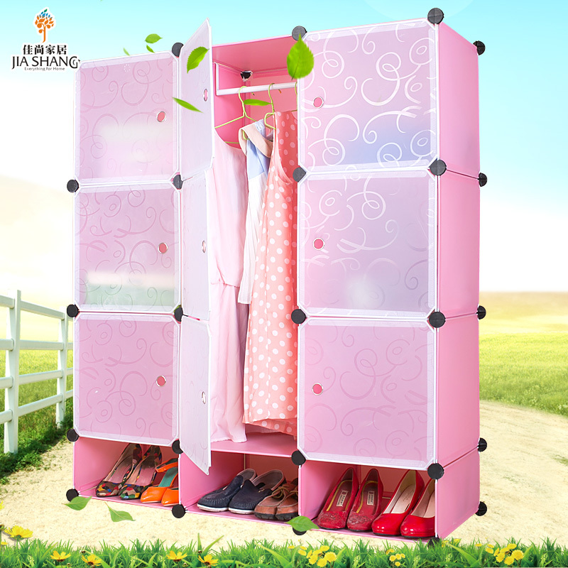 Cabinet Design For Clothes For Girls aliexpress : buy jia shang diy plastic storage cabinets