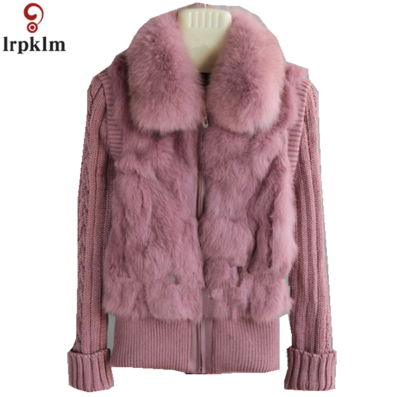 coffee À light Lapin gamme 2019 Sleeves Ch291 Mode Vest Manches wine De Tricoté Col red Dames leather Red Marque Sleeves D'hiver Sleeves Wine camel Manteau Sleeves purple Longues Grey Purple Fourrure dark black Sleeve armygreen Sleeve brown Nouvelle Haute camel army Green Purple Outwear Chaud Dark Waistcoat Sleeves black pink OqSwfdfa