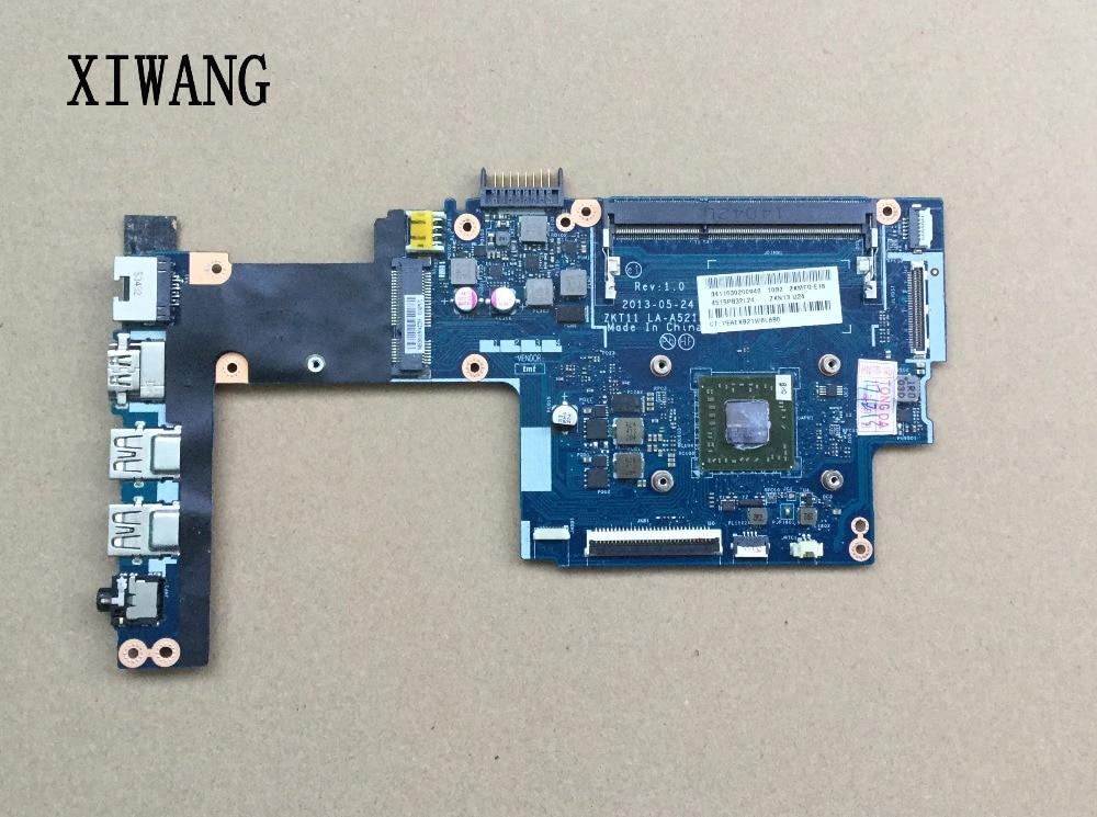 744185-501 744185-001 livraison gratuite UMA ZKT11 LA-A521P pour HP 210 215-G1 série carte mère 100% entièrement testé!!