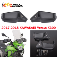 Motorcycle Parts 2Pcs Versys X 300 Hand Guard Grip Shell Protection Handguard Kit For Kawasaki Versys X300 Versys 300 X