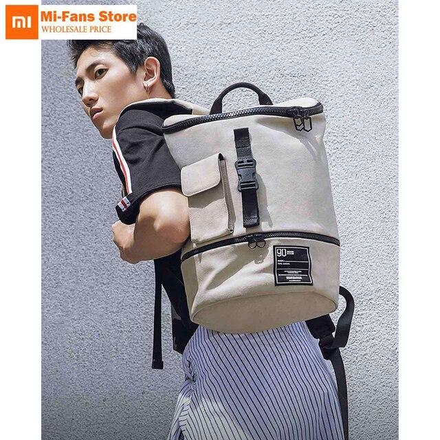 Оригинальный Xiaomi шикарный водостойкий туристический рюкзак для бизнеса большой емкости маленький 13 дюймов Большой 14 дюймов ноутбук сумка для мужчин и женщин