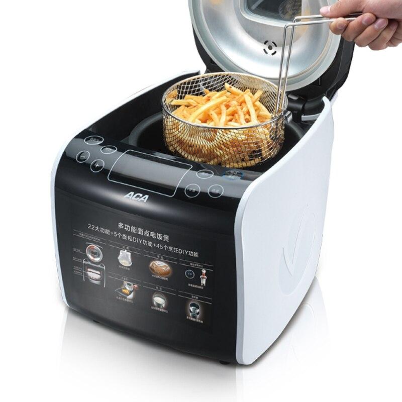 Machine à pain multifonction cuiseur à riz friture vapeur 1000g Machine à pain yaourtière pétrir la pâte Machine de cuisson AB-IPN16