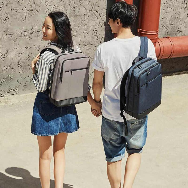 Xiaomi 90FUN Классический Водонепроницаемый 15,6 дюймовый рюкзак для ноутбука мужские рюкзаки для девочек-подростков рюкзак для путешествий Женский Мужской H30