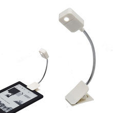 For Kindle Notebook Led Reading Light Ebook Book Reader Nightlight Desk Table Lamp PC Phone Tablet E-Reader Lighting Flashlight(China)