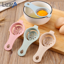 Plastic Egg Dividers Separator White Yolk Sifting Protein Separation Tool Kitchen Cooking Gadget Hand Tools