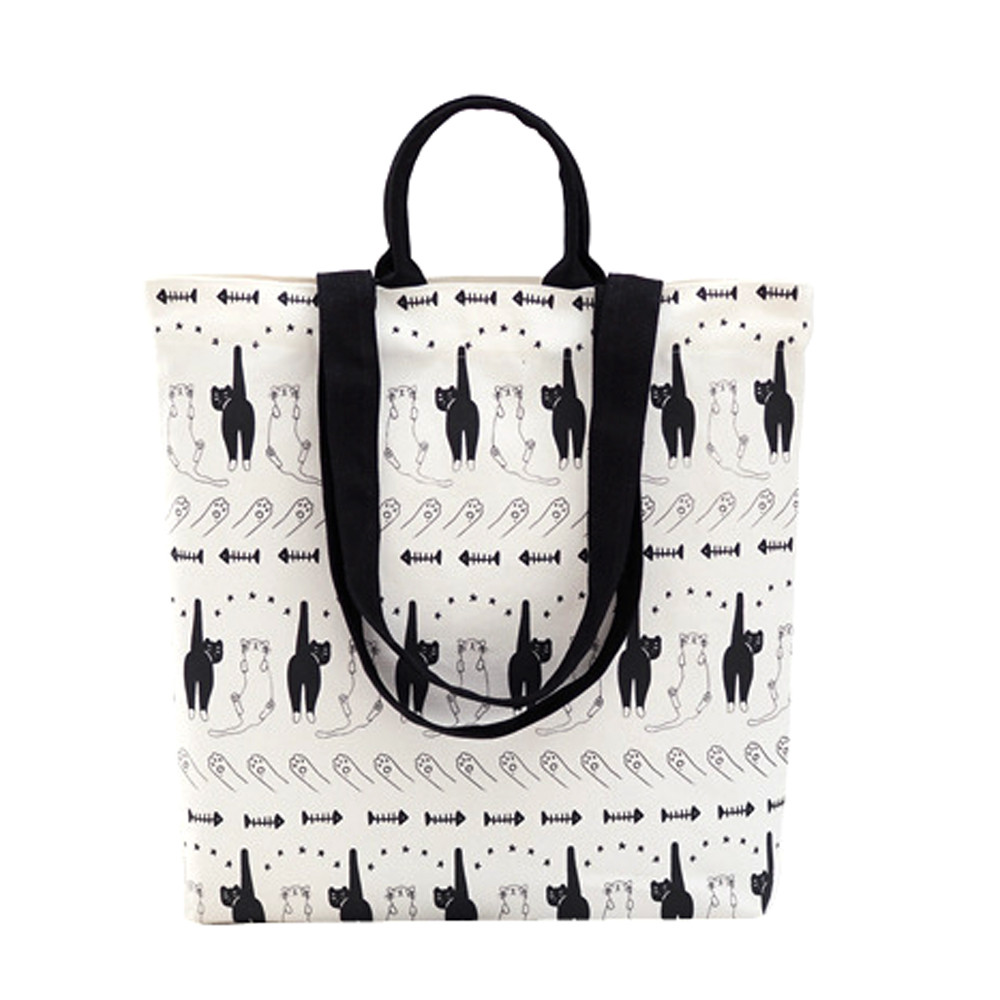 1PC Ladies Canvas Leisure School Bag Zipper Messenger Bags Schoudertas Dames Handbags Bags Designer