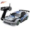 Gran Coche RC 1:10 de Alta Velocidad Del Coche de Competición Para Sunaru Impreza/Toyota AE86 Campeonato 2.4G 4WD de Radio Control deporte Deriva de juguete