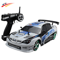 Grande Carro RC 1:10 Carro de Corrida de Alta Velocidade Para Sunaru Impreza/Toyota AE86 Campeonato 2.4G Controle de Rádio 4WD esporte brinquedo Deriva