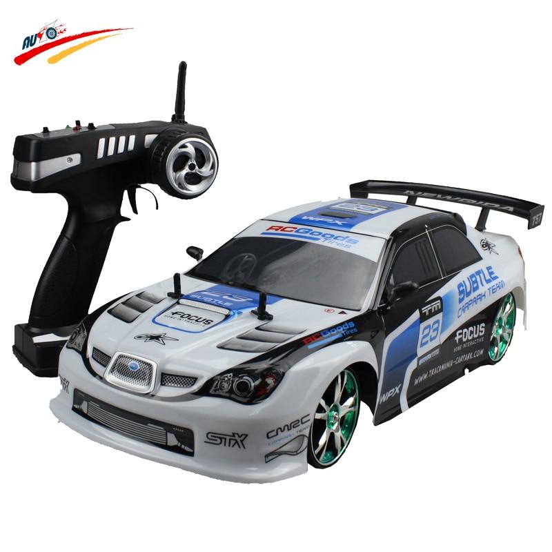 Large RC Car 1:10 High Speed Racing Car For Sunaru Impreza/Toyota AE86 Championship 2.4G 4WD Radio Control Sport Drift  toy
