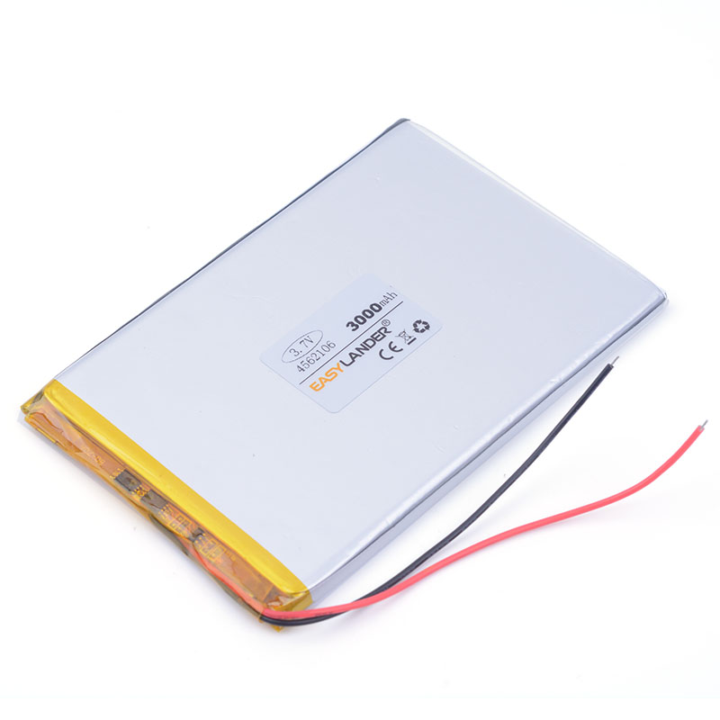 battery for tablet pc 3.7V 4562106 rechargeable mobile phone battery 3000mah For power bank PAD PSP andorid phone PDA Tools