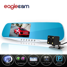 Hot Sale Car Camera Mirror Novatek 96655 Car Dvr Blue Review Mirror Digital Video Recorder Auto Registrator Night Vision FHD DVR